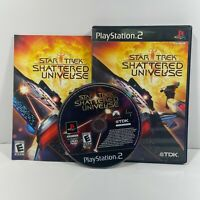 Star Trek: Shattered Universe (Sony PlayStation 2 PS2) No Manual Tested Rated E