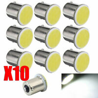 10pcs White 1156 BA15S P21W Led Bulbs Car Auto LED 1156 Lamp COB 12SMD 12V