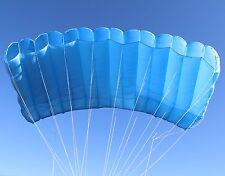Maverick 200 skydiving parachute reserve canopy - 7 cell F111 - mint shape - blu