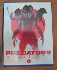 Predators (Blu-ray Disc, 2015, Art Card) Adrian Brody - No Digital
