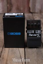 Boss RV-6 Digital Reverb Electric Guitar Effects Pedal 8 Diverse Sound Modes RV6