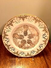 Lenox Millenium 2000 Angel Messengers of Harmony Plate 24K-Limited Edition