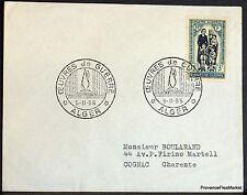 Algeria 1955 Letter Works War Envelope 165CA143