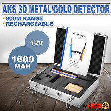 Metalldetektor AKS Gold 3D Metallsuchgerät Suchgerät Gold Metal Detector Digger