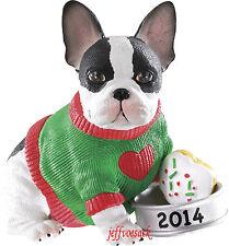 """Puppy Love  """"Boston Terrier""""    2014 Carlton Cards Ornament #026F"""