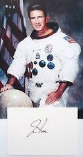 Apollo 15 James Irwin Lunar Module Pilot Autograph Signed Card Authentic       .