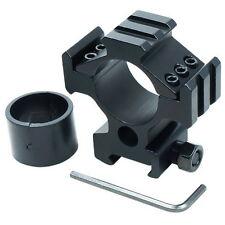 """Scope Ring Flashlight Laser Mount 1"""" 25.4/30mm for Picatinny Weaver Triple Rail"""