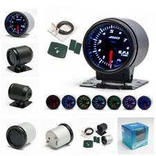 "2""/52mm 7 Color LED Car Auto Tachometer Gauge Meter Pointer Universal Meter"