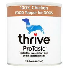 Thrive Protaste Dog Food Topper - 100% Chicken, Hypoallergenic & Grain Free 170G