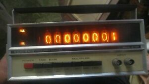 Heathkit Frequency Counter Model 1B-1103 powers on
