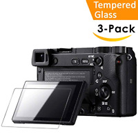 Sony Alpha a6500 a6300 a6000 a5100 a6400 Tempered Glass Screen Protector 9H LCD