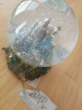 "San Francisco Music Box Wizard of Oz Musical Snow Globe 1995 5"" tall"