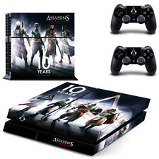 Assassin's Creed 10 Years PS4 Skin Sticker Cover for Sony PS4 Console&Controller