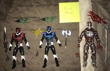 Hasbro Power Rangers Lightning Collection Lord Zedd, Psycho Blue, & Psycho Red