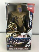 """Hasbro Marvel Titan Hero Power FX 12"""" inch Avengers 4 Endgame Thanos Figure"""