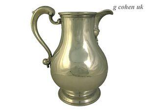Georgian Silver Beer Jug 1755