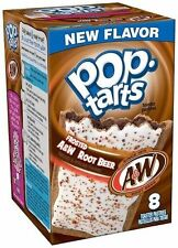 Kellogg's Pop Tarts Frosted A&W Root Beer Toaster Pastries 14.1 oz Box