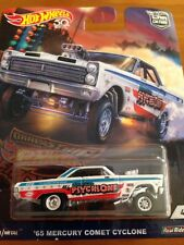 NEW 2018 Hot Wheels Car Culture 65 Mercury Comet Cyclone RARE Full Metal R/Rider