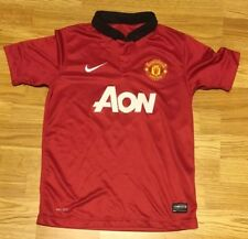 Nike Manchester United Youth Red Aon Jersey Size Medium a2e7be008a