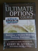 Factory Sealed - Kerry Given The Ultimate Options Course 4 DVD Set Retail $995