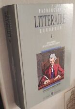 PATRIMOINE LITTERAIRE EUROPEEN 1720/1778 ANTHOLOGIE DE BOECK 1997