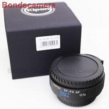 Kipon Baveyes 0.7x Auto Focus Adapter Canon EOS Mount Lens to Fujifilm X FX Pro2