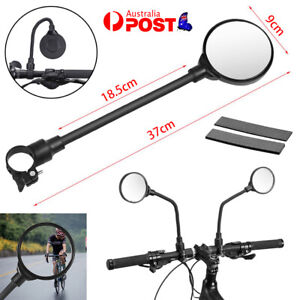 360d Flexible Bike Handlebar Rear View Mirror Bicycle Cycling Safety Rearview