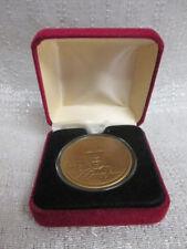 Michael Jordan Highland Mint Bronze Coin Limited Edition Chicago Bulls COA HOF