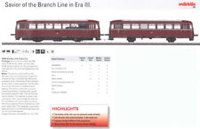 Marklin HO MOHI NOS 39984 DB Class VT 98 Rail Bus mit Kontrolle Auto