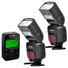 2 x Yongnuo YN685 TTL Speedlite Flash + YN622C TX Transceiver for Canon UK