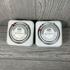 Intermatic Time-All 24 Hour 15 AMP Lamp & Appliance Timer Model TN111 Lot of 2 photo