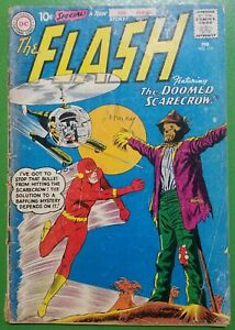 Flash #118 1st app of Steve Palmer Wally West Carmine Infantino 1961 DC GD