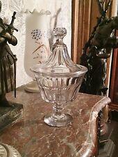 Ancien Drageoir Cristal de BACCARAT 19 eme Coupe Compotier Sucrier 23,5 cm N°1