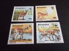 Botswana 258-261 Mint Never Hinged Mnh 1980 Christmas Stamps Flora Nature & Plants