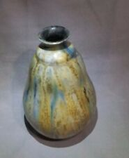 Roger GUERIN Bouffioulx vase boule coloquinte ART nouveau Grès émaillé