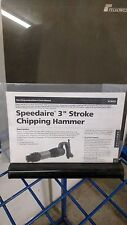 Stroke Chipping Hammer Speedaire Operating Instructions & parts manual