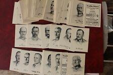 523 BASMA Zig. Bilder Deutsche Männer  Autographen 1932 126 cards  german mens
