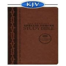 Remnant Study Bible KJV with Ellen G. White Writings (Special Forces Brown)