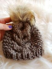 Handcrafted Cunky Baby Knit Winter Hat