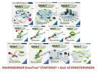 RAVENSBURGER GraviTrax® STARTERSET + 10 ERWEITERUNGEN - KUGELBAHNSYSTEM