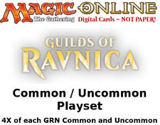 MTGO Magic Online GRN Guilds of Ravnica Playset 764 Cards 4x Common/Uncommon
