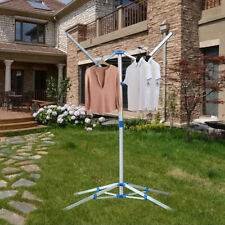 Rotary Washing Line Clothes Airer Rack Adjustable Foldable Laundry 4 Arm Style u