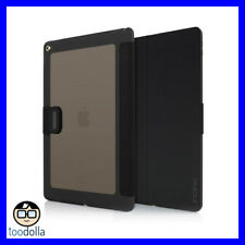 """INCIPIO Clarion, impact resistant shock absorbing folio case, iPad 12.9"""", Black"""