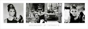 Audrey Hepburn Breakfast at Tiffanys Poster 36x12 inch