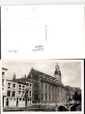 509930,Netherlands Leiden Academie Akademie Gebäude Brücke