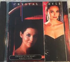 Crystal Gayle Cd Straight To The Heart Nobody's Angel New Sealed