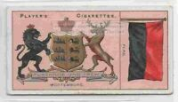 Wurtemburg Flag Banner Emblem Germany 110+ Y/O Ad Trade Card