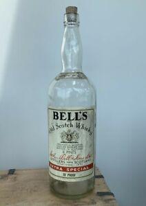 Vintage 1 Gallon 8 pint 4.5 Litre Bells Scotch Whisky Bottle Charity Collection