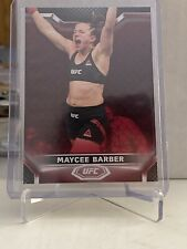 2020 Topps UFC Knockout Maycee Barber Ruby Parallel Base #/8  🔥🔥🔥 Rare