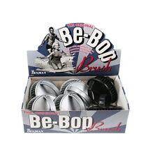 Denman D6 Be Bop Hair Brush (box of 12)  Scalp Massage Brush Silver&Black